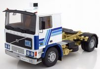 Volvo F12 Blue and White